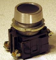Выключатель кнопочный ВК 14-21 черный, кнопка, фото 1