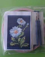 Набор для «ковровой вышивки»  2 иглы «Ромашки»