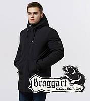 Braggart Black Diamond 9055 | Мужская куртка на тинсулейте черная