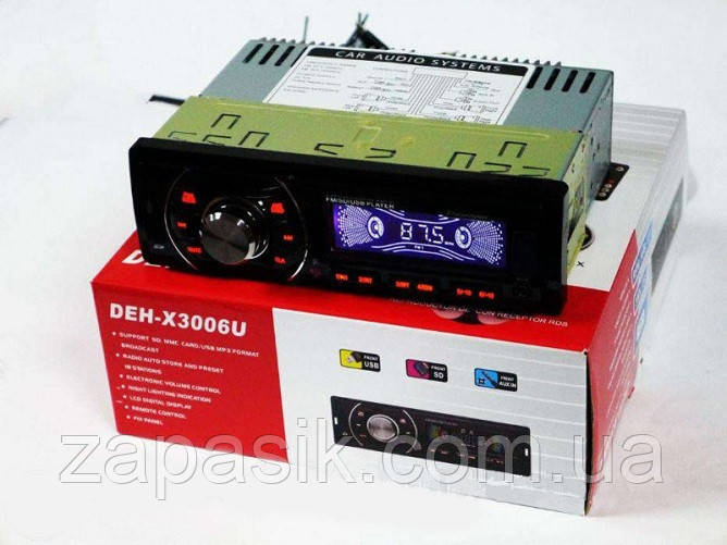 Автомагнитола MP3 DEH X 3006 U
