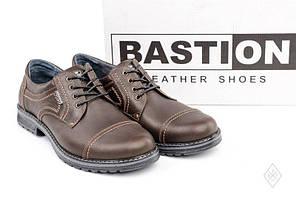Туфли кожаные Bastion