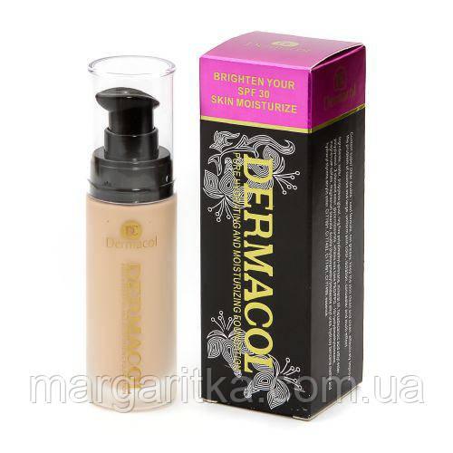 Тональный крем Dermacol Bright your SPF 30 skin moisturize (Копия)Дермакол