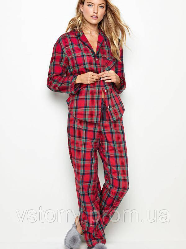 90eb2395b9830 Victoria secret XS фланелевая пижама для сна victoria's secret виктория  сикрет - vs_torry в Ивано-