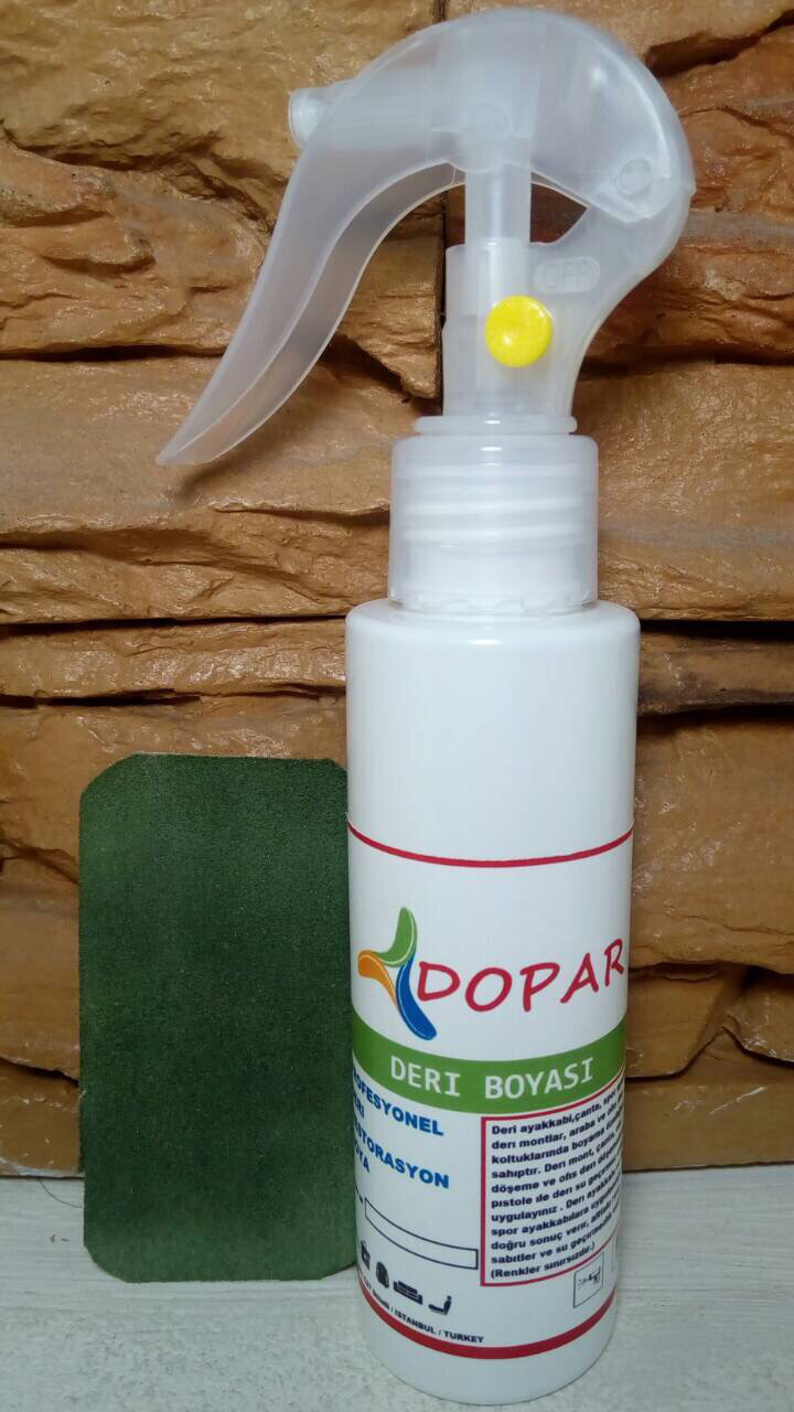 Краска Dopar, производство Турция цвет 100ml цв.темно зеленый