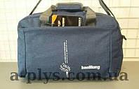 Дорожная сумка Baolilong серо-голубого цвета