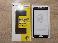 Защитное стекло для Meizu M5 Note - 2.5D 9h - с черной рамкой