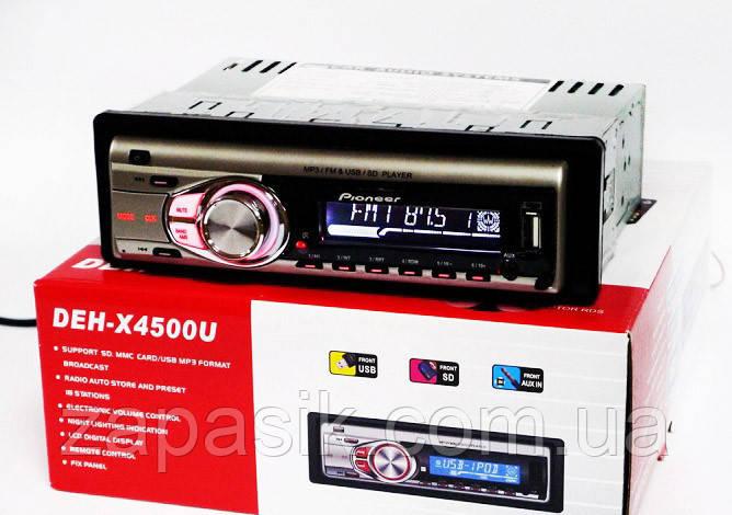Автомагнитола MP3 с Евро Разъемом DEH X 4500 U