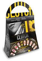 """Маникюрный набор """"Clutch: подсолнухи"""" КЛ-01-03"""