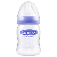 Бутылочка Lansinoh для естественного кормления с соской Natural Wave (шир. горл., антиколик. клапан, 160 мл)