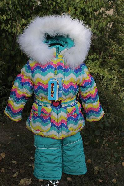 Дитячий зимовий комбінезон для дівчинки від Donilo 3331, 80-104