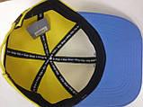 Бейсболка с украинской символикой жёлто синяя с гербом, фото 2