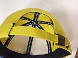 Бейсболка с украинской символикой жёлто синяя с гербом, фото 3