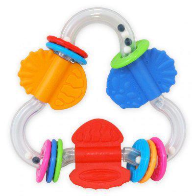 Детская погремушка с разными цветами baby mix