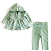 Комплект Calvin klein для девочки (штаны, кофта с капюшоном)