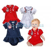 Комплект детский Polo Ralph Lauren (платье, трусики)