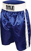 Шорты боксерские Title BOXING PROFESSIONAL - Blue/white