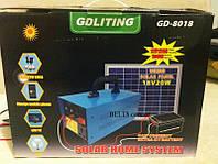 Солнечная система электроснабжения GDLite GD-8018, домашняя система от солнечной энергии GD – 8018