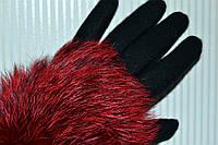 Перчатки, лиса