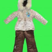 Детский зимний комбинезон для девочки от Donilo  3383 | последний размер 128р., фото 2