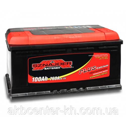 Автомобильный аккумулятор SZNAJDER Plus 6СТ-100Aз 850A R