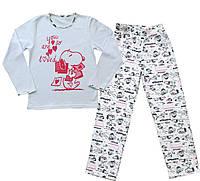 """Пижама подростковая для девочки """"Снуппи"""""""