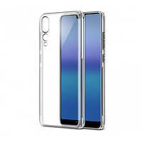 Прозрачный силиконовый чехол-накладка Oucase для Huawei P20 Pro