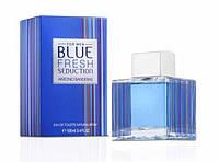 Мужская туалетная вода Antonio Banderas Blue Fresh Seduction (свежий аромат) AAT