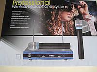 Профессиональная радиосистема  для вокала,караоке,проведения вечеринок UKC DM UWP-200 XL / База + 2 микрофона