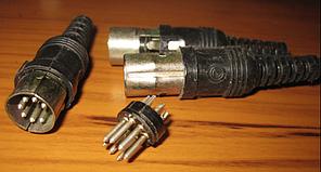 Роз'єм штекер СШ7 / pin DIN 7-ГОСТ
