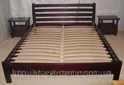 """Кровать полуторная """"Масу"""". Массив - сосна, ольха, береза, дуб., фото 3"""
