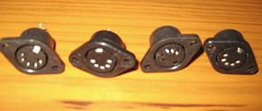Гнізда СШ5 / СШ-5/ DIN -5-пластик ГОСТ
