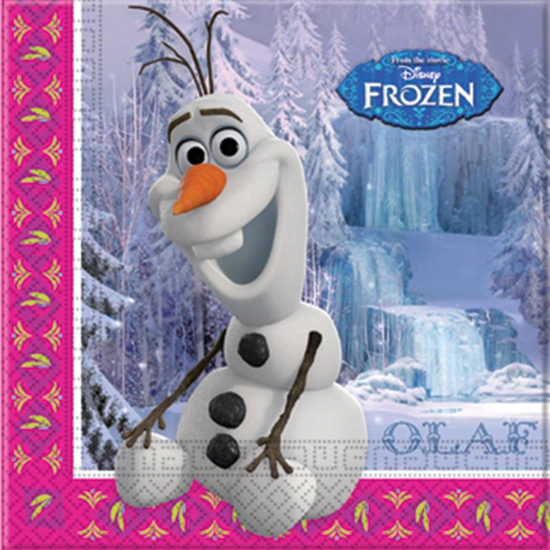Салфетки Frozen Олаф (20шт/уп)