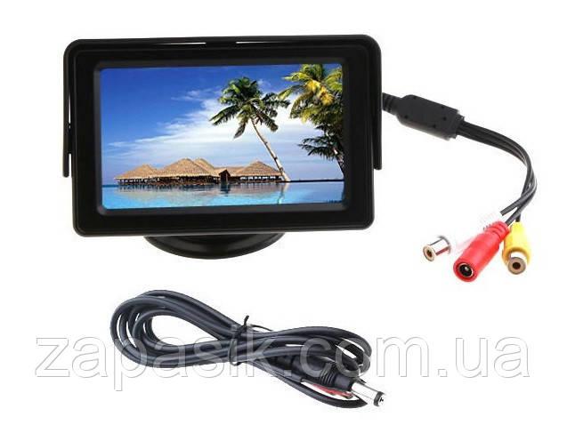 Автомонитор 4,3'' Car Rearview Monitor Color LCD