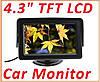 Автомонитор 4,3'' Car Rearview Monitor Color LCD, фото 4