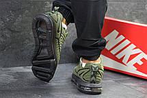 Крутые мужские кроссовки Nike Air Max DLX,темно зеленые, фото 2