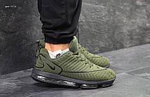 Крутые мужские кроссовки Nike Air Max DLX,темно зеленые, фото 3
