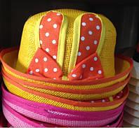 Шляпка, панамка для юной модницы