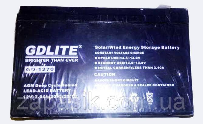 Аккумуляторная Батарея GD 1270 12 V 7 Ah am