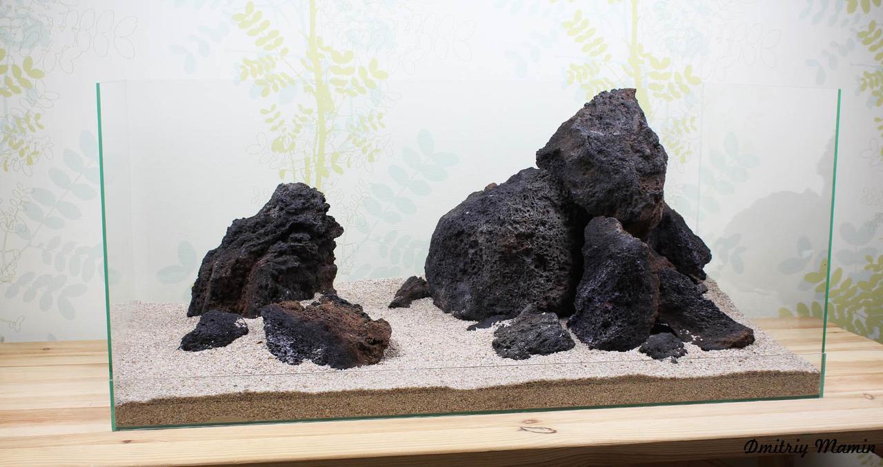 Композиция из лавы