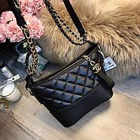7d5774906cb3 Модный и стильный клатч Chanel Шанель эко-кожа дорогой Китай цвет черный