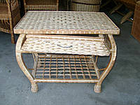 """Плетеный столик из лозы """"Краб"""""""