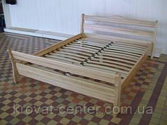 """Кровать полуторная """"Грета Вульф"""". Массив - сосна, ольха, береза, дуб., фото 2"""