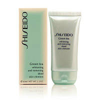 "Скраб SHISEIDO ""green tea whitening and removing dead skin element"". 60ml"