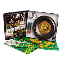 Настольная игра D25354 5 в 1 Покер