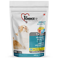 Сухой корм для взрослых котов и кошек 1st Choice Urinary Health склонных к МБК 0,34 кг