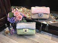 Женский клатч из паеток Chanel Шанель дорогой Китай выбор цветов , фото 1