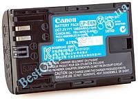 Аккумулятор Canon LP-E6N. Аккумулятор для Canon 6D, 7D, 60D, 5DS, 5D Mark II, Mark III