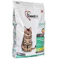 1st Choice Adult Weight Control корм для малоподвижных и стерилизованных кошек, 10 кг