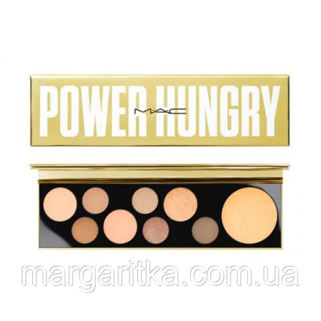 Тени MAC Power Hungry 9 цветов  (Копия)мак