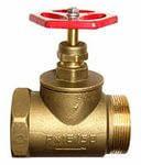 Латунный вентиль ду20 мм внутренний/наружный